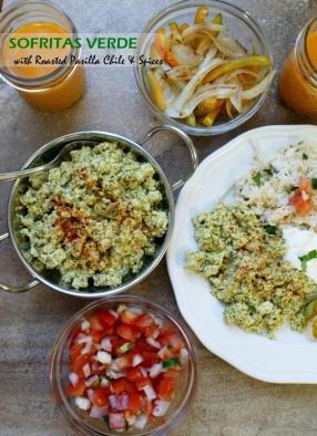 Vegan Sofritas Verde - If someone tell you that vegetarian, vegan food is not tasty, ask them to try this sofritas verde recipe.