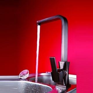 Antique Solid Brass Kitchen Faucet (Antique Copper Finish)--Faucetsdeal.com