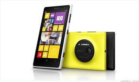 Nokia's new Lumia packs a crazy 41-megapixel camera