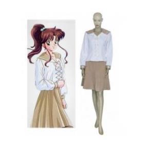 Sailor Moon Classic Kino Makoto Sailor Jupiter School Uniform Cosplay Costume--CosplayDeal.com