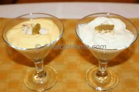 Yogurt Sweet Dish is light, yummy and very easy to assemble. We are sharing with you two ways to make Shri Khand (Sweet Hung Yogurt), Mango and Cardamom flavored.