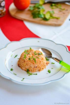 Spanish Tomato Rice with Smoked Chipotle Recipe - ChefDeHome.com
