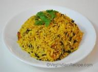 Paneer Pilaf with Fenugreek
