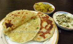Potato Stuffed Naan Bread