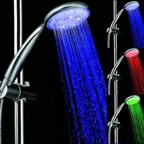 Chrome Contemporary LED A Grade ABS Hand Shower--Faucetsmall.com