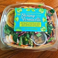 I love this healthy, dairy free and tasty store prepared Shrimp Salad.