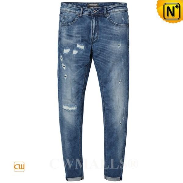 CWMALLS Designer Ripped Denim Jeans CW107022
