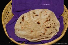 Indian Flat Bread Chapati Recipe - ChefDeHome.com