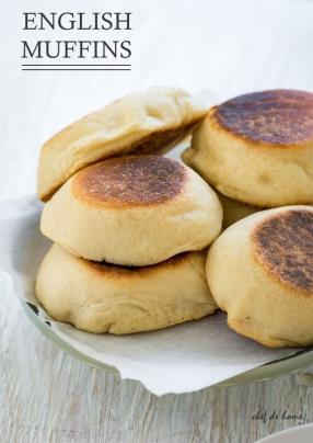 English Muffins Recipe - ChefDeHome.com