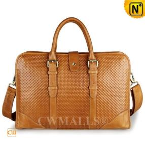 CWMALLS Embossed Leather Business Briefcase CW907128