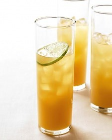 Pineapple Rum Cocktail - easy breezy