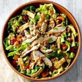 This Panera Bread Thai Chicken salad is tasty healthy and dairy free